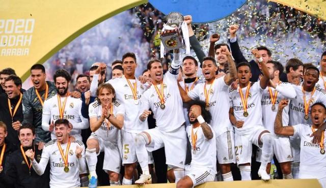 Real Madrid campeón de la Supercopa con Valverde protagonista