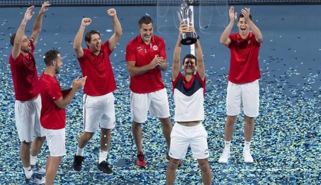 Serbia es el primer campeón de la Copa ATP