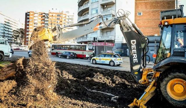 Se retomaron las obras en la ciudad