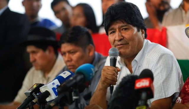 El MAS de Evo Morales apunta a reconquistar a la clase media