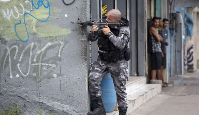 Récord de muertes a manos de la policía de Rio en 2019
