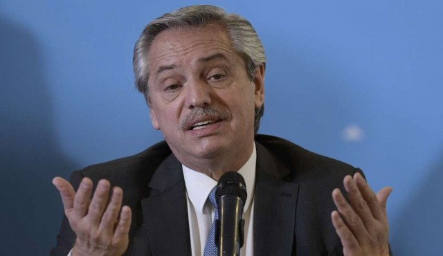 Alberto Fernández no vendría a la asunción de Lacalle Pou