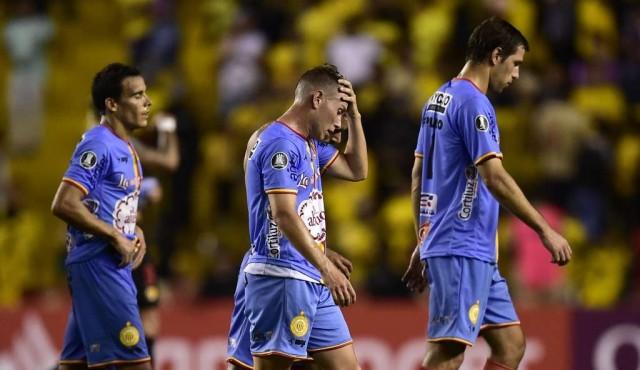 Barcelona eliminó a Progreso
