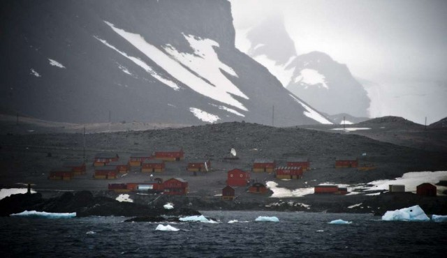 La Antártida argentina registra temperaturas récord