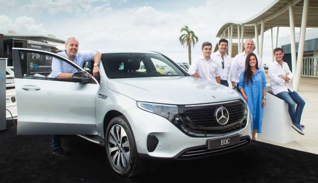 Mercedes-Benz presentó su primer SUV 100% eléctrico en el America Business Forum