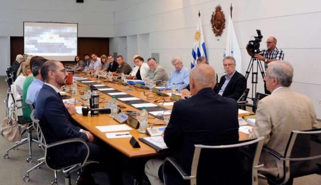 Último consejo de ministros presidido por Vázquez