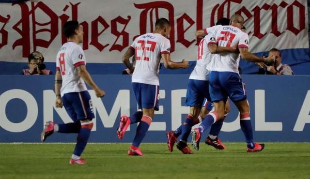 Nacional le ganó a Estudiantes y suma dos triunfos en la Libertadores
