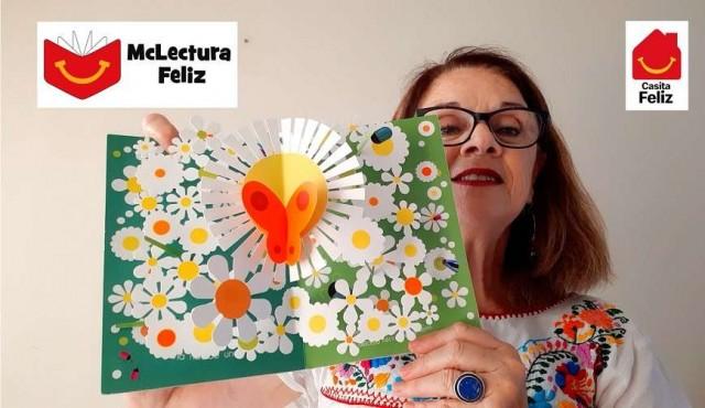 McDonald's presenta Mc Lectura Feliz de la mano de Niré Collazo