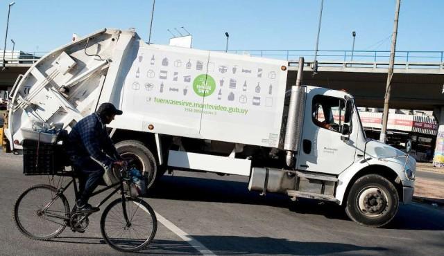 Intendencia suspendió recolección discriminada de residuos reciclables