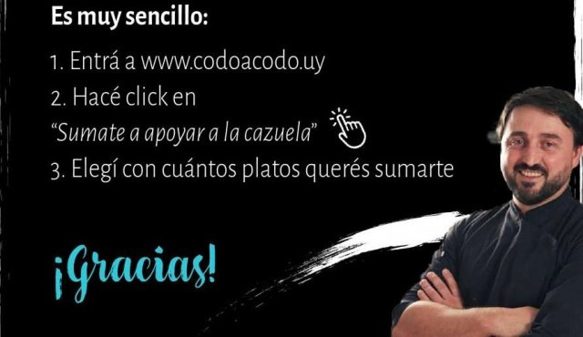 Cazuela solidaria de Aldo Cauteruccio