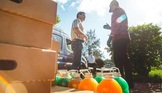 """Autolider lanzó la campaña """"Ayudando a los que ayudan"""" para apoyar la lucha contra el coronavirus"""