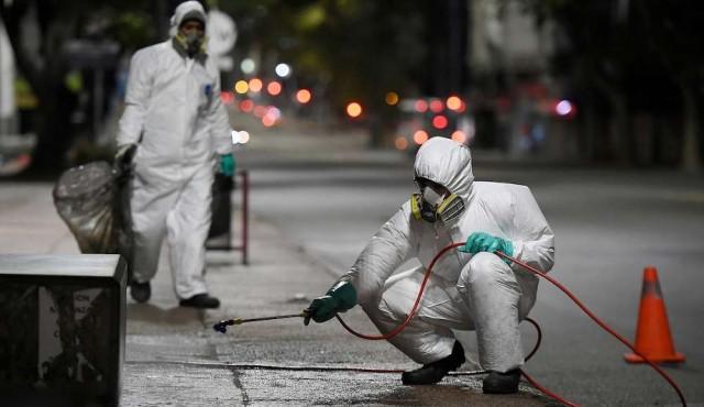 OMS no recomienda la desinfección de espacios abiertos contra el covid-19