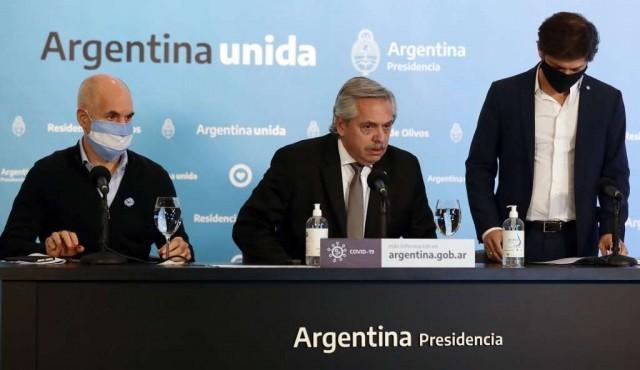 Argentina prorroga 15 días más la cuarentena ante aumento de contagios de COVID-19