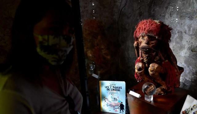 Tintín y el enigma de la momia amerindia desata la polémica en Bélgica