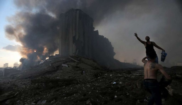 Explosiones dejan más de 100 muertos en Beirut