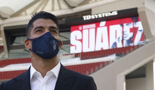 Luis Suárez ya es oficialmente del Atlético de Madrid