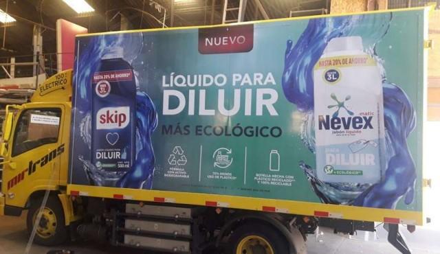Unilever y Grupo Mirtrans incorporan vehículo eléctrico al sistema de distribución