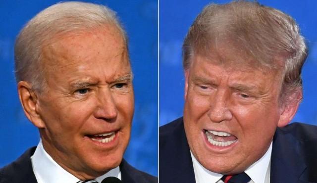 """Biden vs Trump: uno de los debates """"más caóticos y agresivos de la historia"""" de EEUU"""