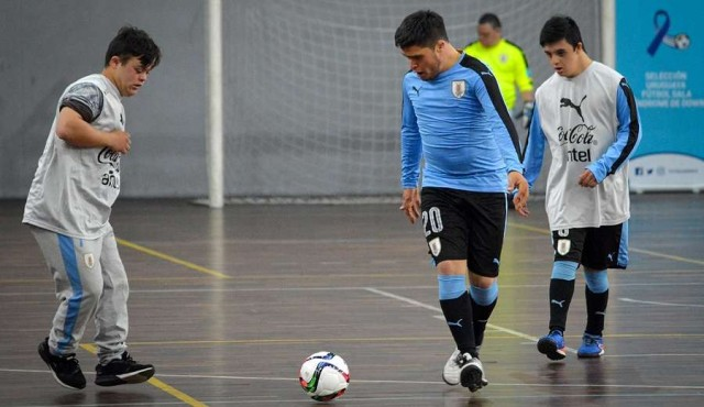La Selección Uruguaya de Futsal Down ya es una realidad