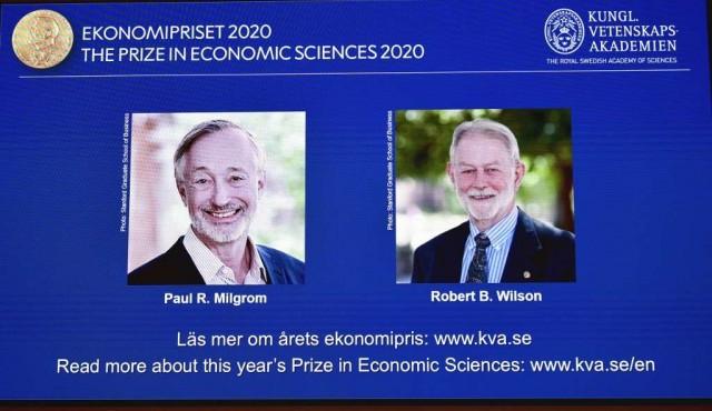 Dos estadounidenses ganan el Nobel de Economía por su búsqueda de la subasta perfecta