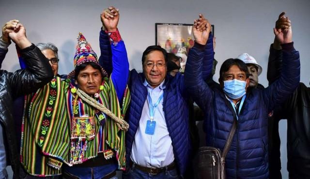 Con el 52,4%, el MAS de Evo Morales vuelve al poder en Bolivia