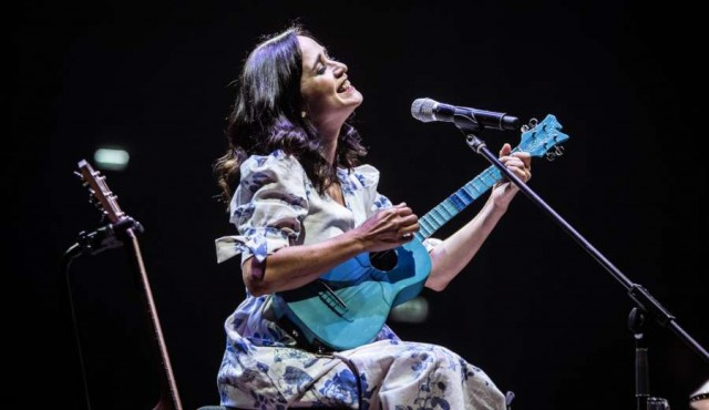 "Julieta Venegas volvió a tocar en su ""querida"" Montevideo"