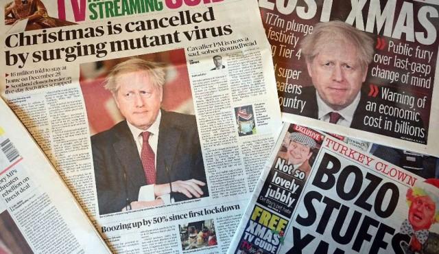 """Reino Unido, aislado del mundo por mutación """"incontrolada"""" del coronavirus"""