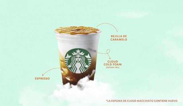 Starbucks Uruguay te lleva hasta las nubes con el nuevo Cloud Macchiato