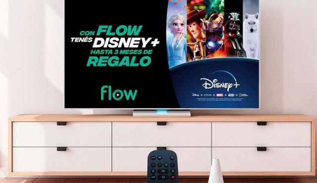 Flow integra la app de Disney+ a su plataforma en Uruguay y lanza una oferta especial para sus clientes