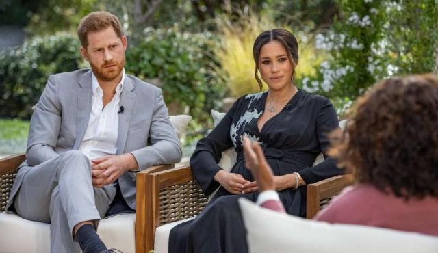 Meghan contempló el suicidio y sugiere racismo en familia real británica