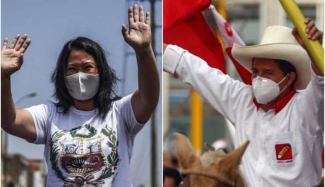 Castillo vs. Keiko: un balotaje que amenaza con polarizar a Perú