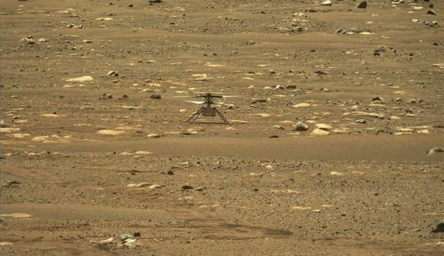 Helicóptero Ingenuity hace historia al volar con éxito en Marte