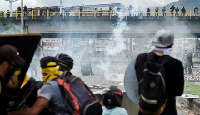 Cali, epicentro de la violencia de protestas en Colombia