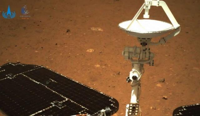 """El """"golazo"""" de China en Marte"""