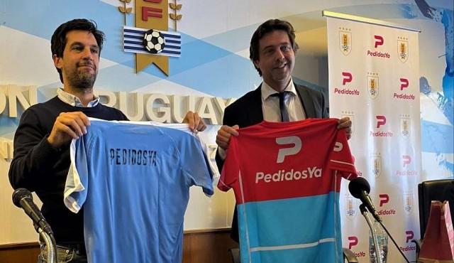PedidosYa nuevo patrocinador oficial de la Selección Uruguaya