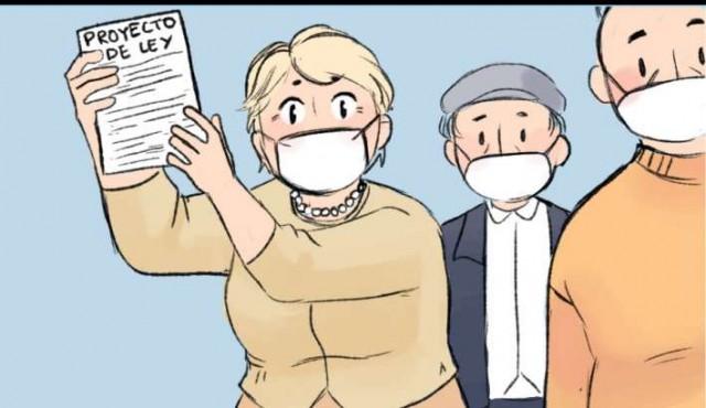 Un cómic para difundir los derechos de las personas mayores