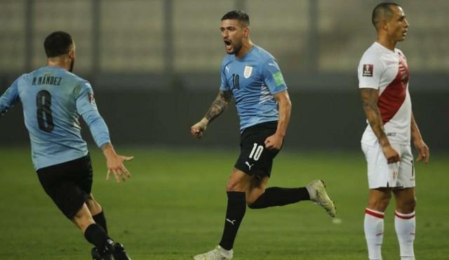 Uruguay empató en Lima y se mantiene en zona de clasificación a Catar