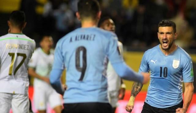 Uruguay volvió a la victoria por Eliminatorias ante Bolivia