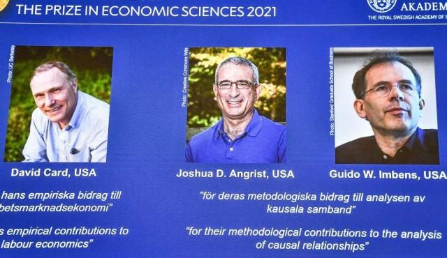 """Nobel de Economía para tres especialistas en """"experimentos naturales"""""""