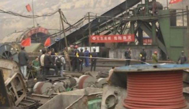 China: 20 muertos en mina de carbón