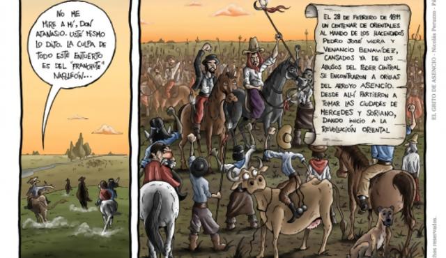 La Banda Oriental en cómic