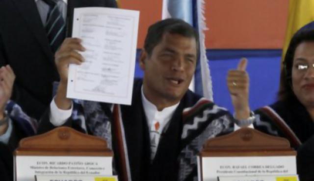 Unasur empezó a andar con la firma de Uruguay