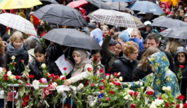 Un coro contra Breivik