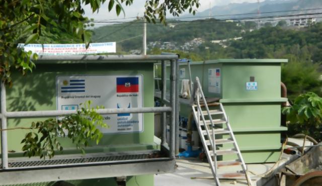 Haití: negocio impide que funcionen potabilizadoras uruguayas