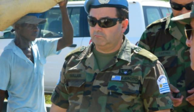 Los cascos azules después de siete años en Haití