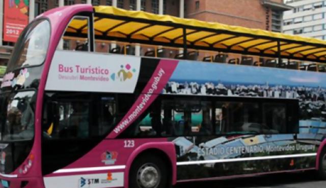 Ya funciona el Bus Turístico en Montevideo