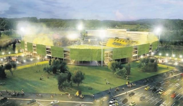 BROU aprueba crédito para estadio de Peñarol