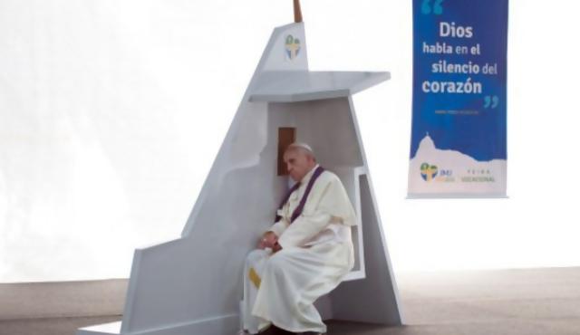 El papa sobre los Vatileaks y el lobby gay