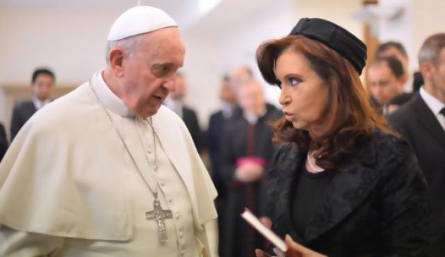 Francisco preocupado por la gobernabilidad en Argentina