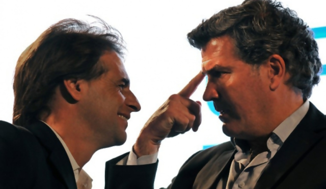 "Bordaberry: ""Vine para que hagan mierda a Tabaré Vázquez"""